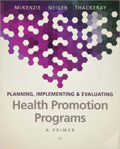 PHHP 627 Health Promotion Theory & Practice