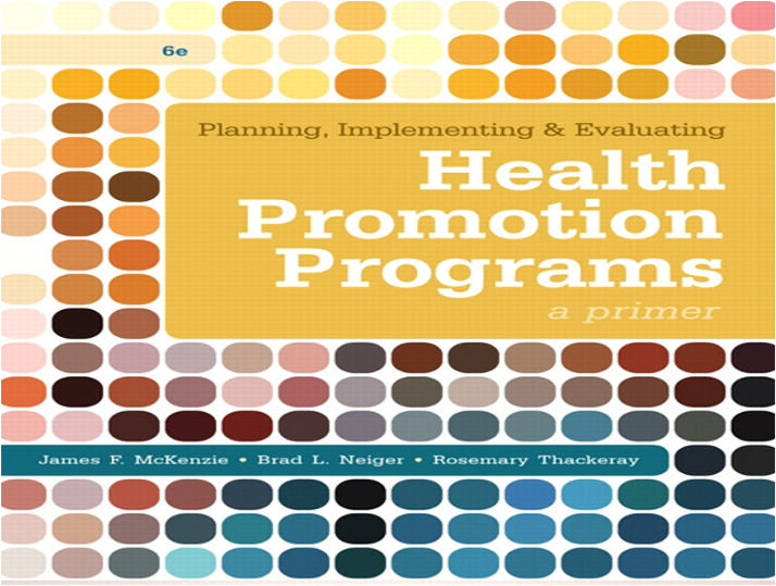 PHHP 627 Concepts and Principles of Health Promotion